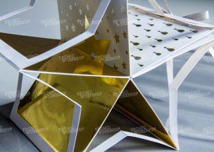 Образец объемной открытки Dior