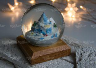 Снежный шар для Федерации Бобслея