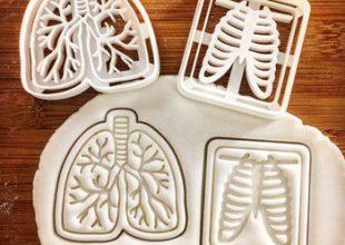 Сладкая анатомия. Формочки для печенья