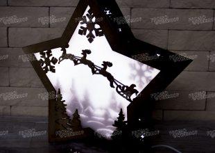 Светильник «Зимняя сказка»