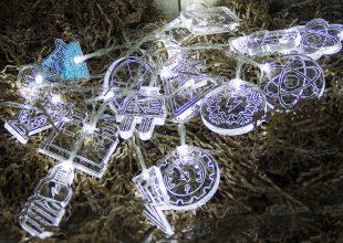 Новогодняя гирлянда «Энергетик»