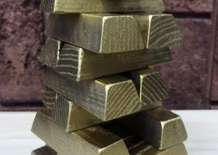 Настольная игра дженга «Золотой запас»