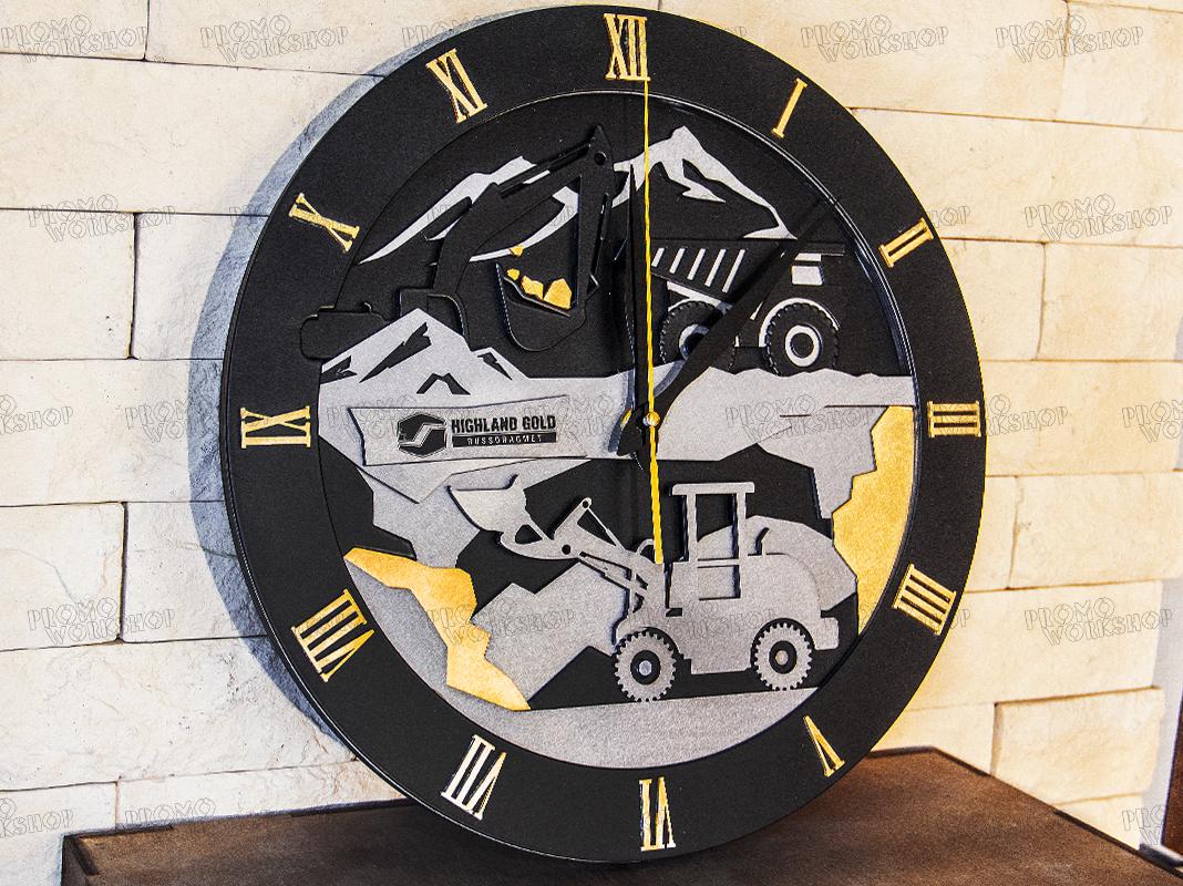 Настенные часы «Золото»