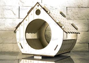 Современный домик для птах