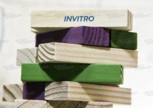 Новогодняя Дженга для «Invitro»