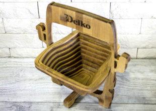 Фруктовая корзинка-трансформер с уникальным дизайном