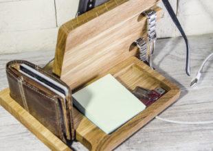Складной органайзер из дерева