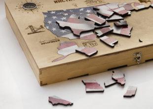 Пазл «Карта США»