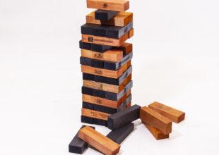 Игра «Падающая башня» для компании «ВостокЦемент»
