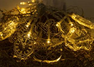 Новогодняя Гирлянда для компании «Макслевел»