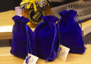 Набор с чаем и вареньем в упаковке-светильнике