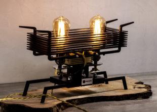 Настольная лампа для компании «Россети»