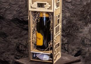 Упаковка для алкоголя + светильник «Хрущевка»