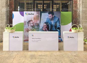 Мобильный стенд для выставки Avito