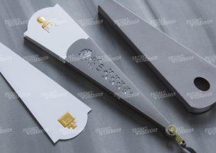 Образец бумажного Блоттера-веера Dior