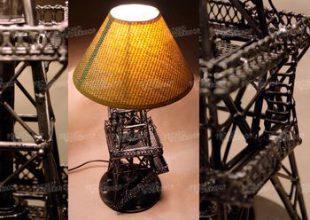 Настольная лампа-вышка