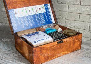 Набор для приготовления шоколада «Сладкая история» для банка Уралсиб