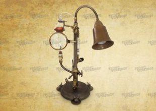 Настольная лампа в стиле стимпанк