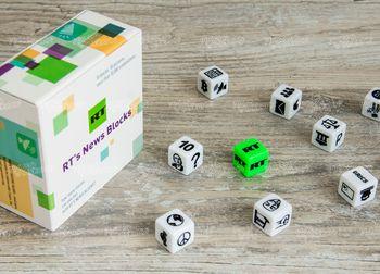 Настольная игра из кубиков для RT