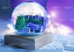 Снежный шар Milka