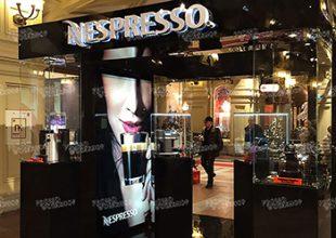 Презентационный стенд Nespresso