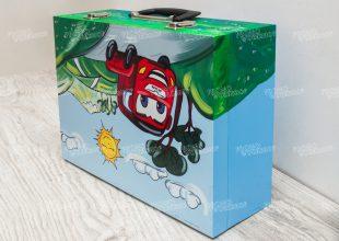 Детский подарочный чемодан