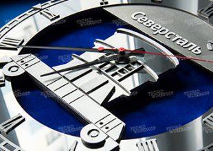 Металлические часы для Северсталь
