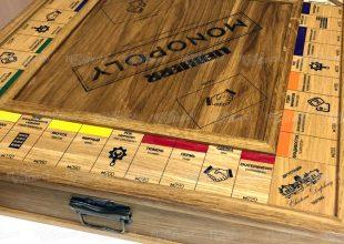 Игра «Монополия» — vip-исполнение. Строительная техника Liebherr
