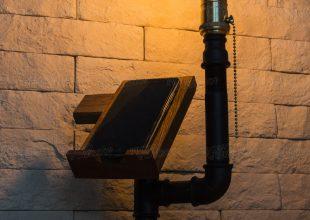 Настольная лампа-органайзер