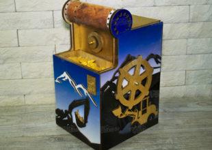 Макет шахты для выставки