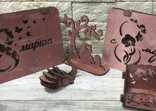 Открытки-конструкторы «8 марта»