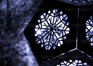 Светильник новогодний  «Додекаэдр»