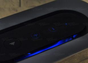 Настольный светильник с беспроводным зарядным устройством и bluetooth-колонкой