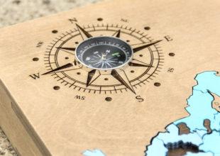Карта-пазл для РЖД-тур