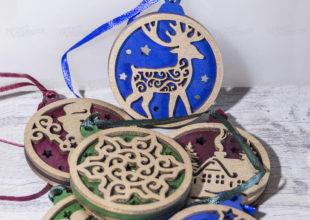 Многослойные деревянные игрушки