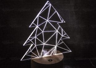 Диодный светильник «Ёлка»