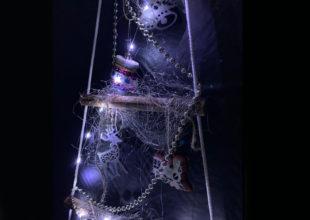 Мобильная ёлка-лесенка