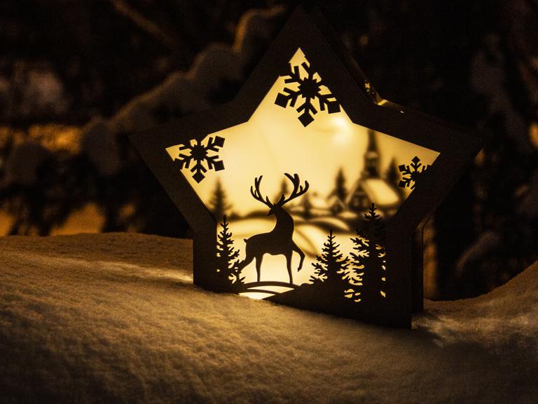 Новогодний светильник