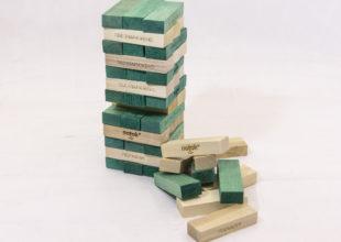 Настольная игра «Падающая башня» для компании «Поток»
