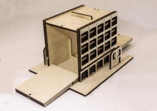 Кормушка стилизованная под здание «ТАСС»